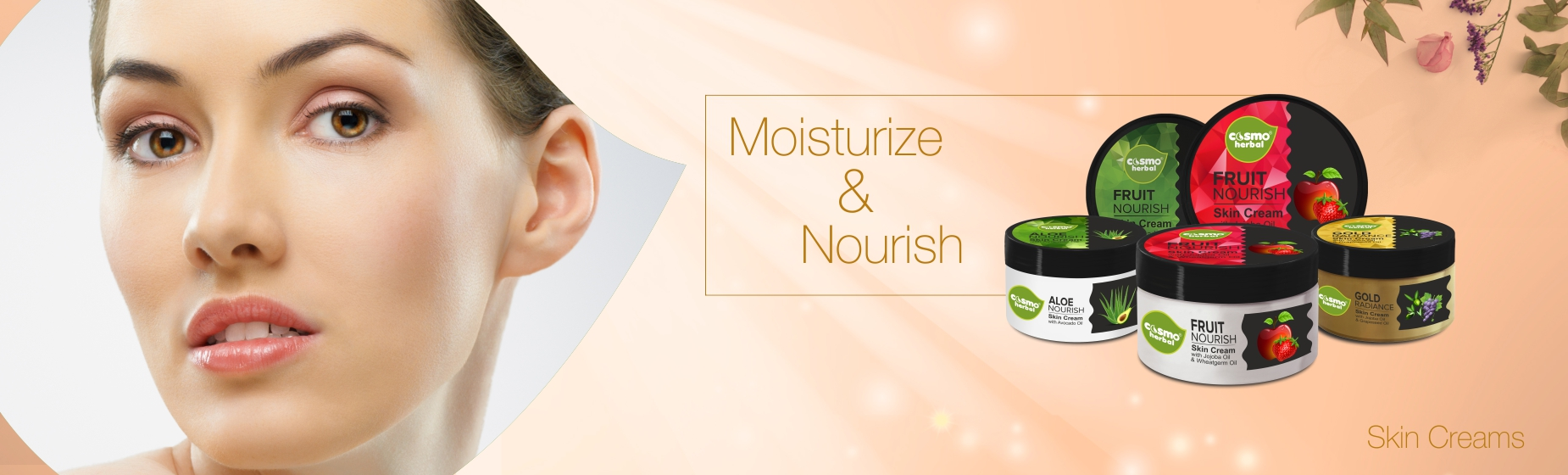 Cosmo Herbals Limited Nourish Skin Cream